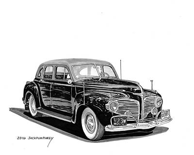 1941 Dodge Town Sedan Poster by Jack Pumphrey