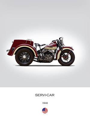 1946 Harley Servi-car Poster