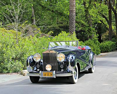 1947 Inskip Rolls Royce Poster