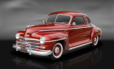 1948 Plymouth Coupe Poster by Frank J Benz