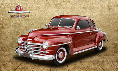 1948 Plymouth Deluxe Poster by Frank J Benz