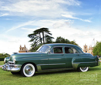 1949 Cadillac Fleetwood Poster by Tim Gainey