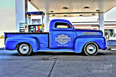 1949 Mercury Truck Poster by Anthony Djordjevic