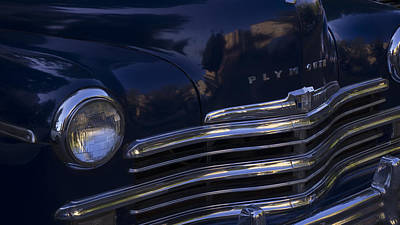 1949 Plymouth Deluxe  Poster by Cathy Anderson