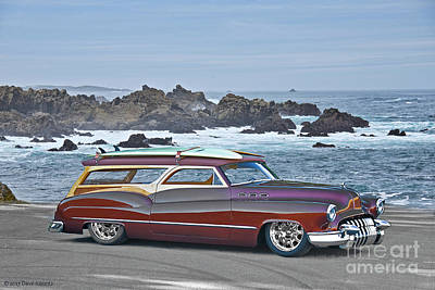 1950 Buick Custom Woody Wagon I Poster