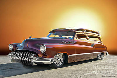 1950 Buick Custom Woody Wagon V Poster