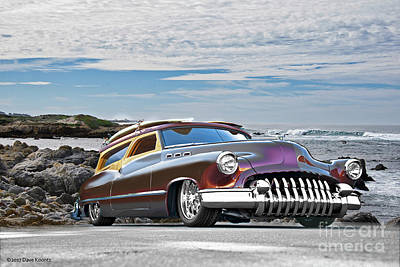1950 Buick Custom Woody Wagon X Poster