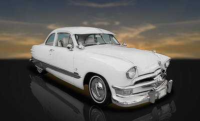 1950 Ford Custom V8  -  Fdwh89 Poster