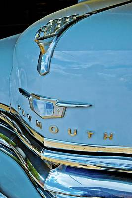Poster featuring the photograph 1950 Plymouth Coupe by Linda Unger