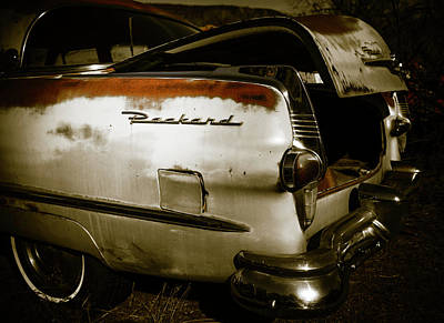 Poster featuring the photograph 1950s Packard Trunk by Marilyn Hunt