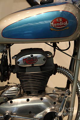 1951 Fb Mondial 125cc Turismo . 5d16994 Poster by Wingsdomain Art and Photography