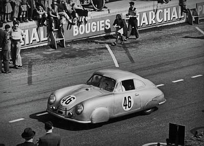 1951 Porsche Winning At Le Mans  Poster