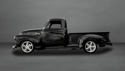 1952 Chevy Pickup Truck  -  Chtrk103 Poster by Frank J Benz