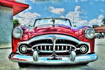 1952 Packard 250 Convertible Poster