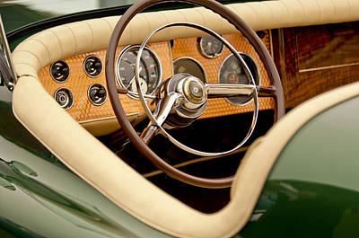 1952 Sterling Gladwin Maverick Sportster Steering Wheel Poster
