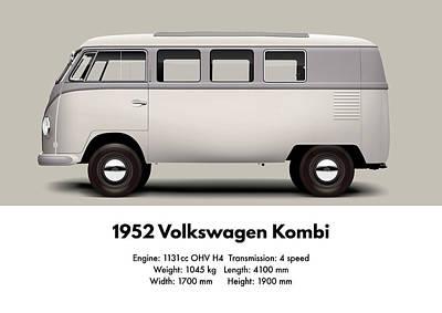 1952 Volkswagen Kombi Poster
