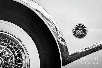 Poster featuring the photograph 1953 Buick Abstract  by Dennis Hedberg
