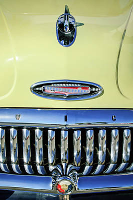 1953 Buick Special Hood Ornament Poster by Jill Reger