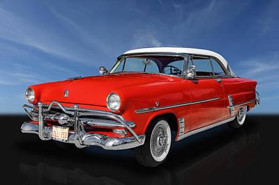 1953 Ford Crestline V8 Poster