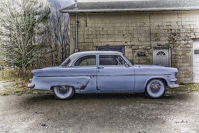 1954 Ford Crestline _ Hdr Poster by Michael Rankin