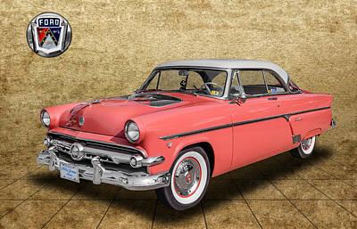 1954 Ford Crestline Poster