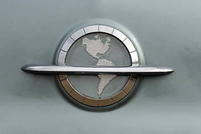 1954 Oldsmobile Super 88 Emblem Poster