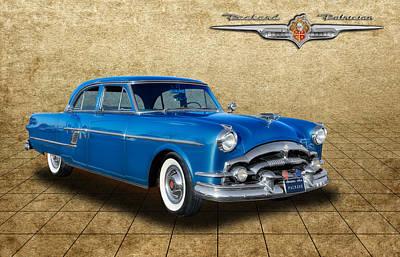 1954 Packard Patrician 4 Door Sedan Poster by Frank J Benz