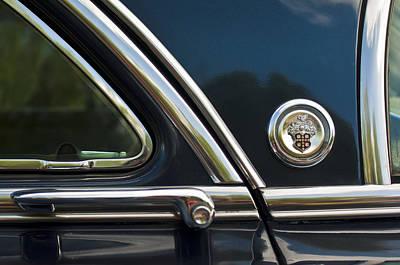 1954 Patrician Packard Emblem 3 Poster by Jill Reger