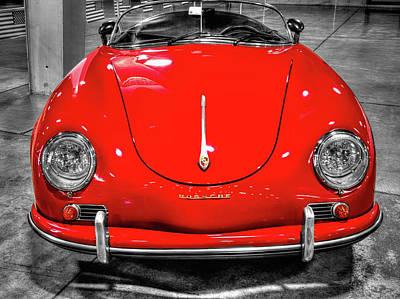 1954 Porsche 356 Speedster  V7 Poster