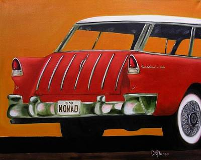 1955 Nomad Poster