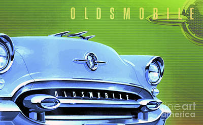 1955 Oldsmobile Ninety-eight 3 Poster