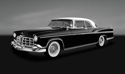 Poster featuring the photograph 1956 Chrysler Imperial Southampton   -   1956chrysimperialgry170226 by Frank J Benz