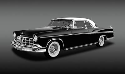 Poster featuring the photograph 1956 Chrysler Imperial Southampton   -   1956imperialhardtopfa170226 by Frank J Benz