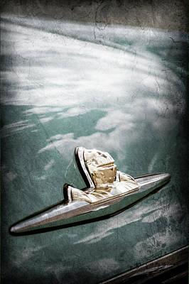 1956 Lincoln Priemere Emblem -0881ac Poster by Jill Reger
