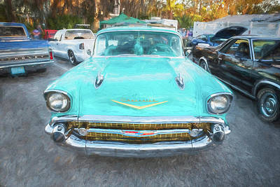 1957 Chevrolet Bel Air 283  Poster