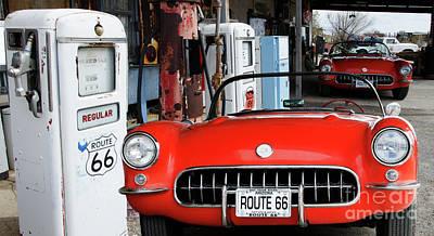 1957 Corvette Hackberry Arizona 2 Poster