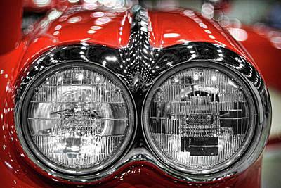 1958 Chevrolet Corvette  Poster by Gordon Dean II