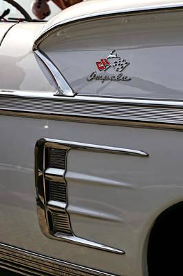 1958 Chevrolet Impala Poster by Gordon Dean II