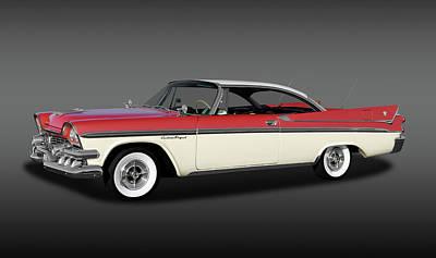 Poster featuring the photograph 1958 Dodge Custom Royal Lancer Super D-500  - 1958dgeroyalsupd500fa170482 by Frank J Benz
