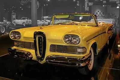 1958 Edsel Convertible Poster