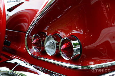 1958 Impala Tail Lights Poster