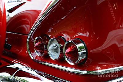1958 Impala Tail Lights Poster