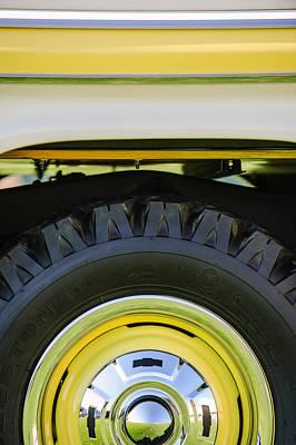 1959 Chevrolet Napco Fleetside Wheel -1583c Poster by Jill Reger