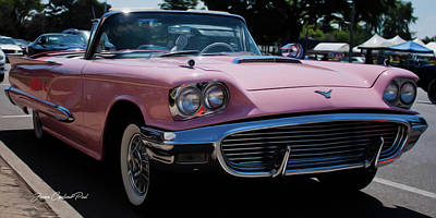 1959 Ford Thunderbird Convertible Poster