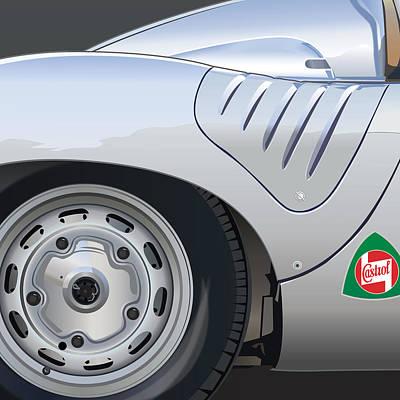1959 Porsche Rsk Poster