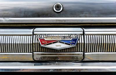 1960 Ford Falcon Trunk Lid Emblem Poster