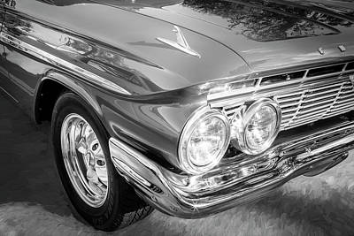 1961 Chevrolet Impala Ss Bw Poster by Rich Franco