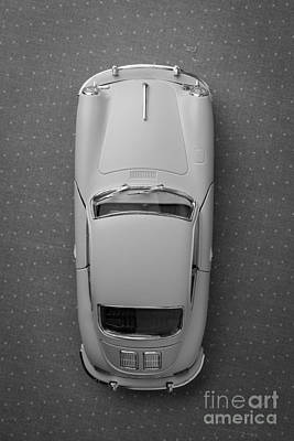 1961 Porsche 356 B Coupe Poster by Edward Fielding