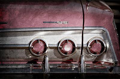 1962 Chevrolet Impala Ss Taillight Emblem -1684ac Poster by Jill Reger