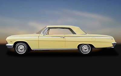 1962 Chevrolet Impala Super Sport 2 Door Hardtop  -  1962impalasupersporthdtp172073 Poster by Frank J Benz